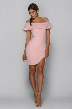 0e57a8ff88 Lady in The Streets Dress in BLUSH PINK by Bad AF Fashion