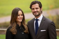 Princess Sofia of Sweden and Prince Carl Philip of Sweden, October 6, 2015.