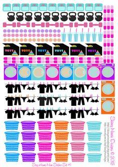 SAHM Sticker Set by SkinnyMinnieDesigns on Etsy