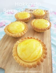 *** As of 3 May have baked 2 more batches of tarts with variations to the recipe. Bakery Recipes, Tart Recipes, Sweet Recipes, Cookie Recipes, Bread Recipes, Bake Cheese Tart, Cheese Tarts, Sweet Pie, Sweet Tarts