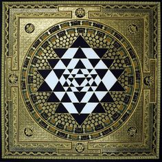 Tibetan Painted Thantric Mandala