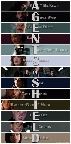 AGENTS of SHIELD Acrostic