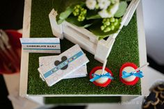 Mickey Mouse Birthday Party via Kara's Party Ideas #MickeyMouse #party #planning #FirstBirthday #idea #PartyDecorations (8)