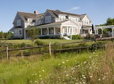 Nantucket styled home