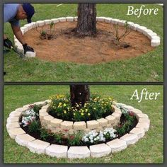 This is an adorable idea for the front yard!