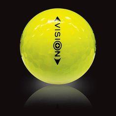 Der #Vision #UVX3 Yellow #Golfball verbindet die Eigenschaften eines regulären Premium-#Golfballs mit deneneines Night-#Glowballs. Durch seine einzigartige UV-Absorption ist der UV X3 weithin sichtbar und somitauch für das #Golfspiel bei schlechter Sicht geeignet. #golf #golfing #golfgods #golfer #golfporn #wintergolf #golfcourse #whyilovethisgame #golfpresent #golfballs #findgolfballs #pga #pgatour #lpga