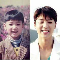 Min Hyuk Ssi ❤ And i see no difference.  That smile