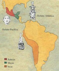 Mapa de culturas prehispanicas