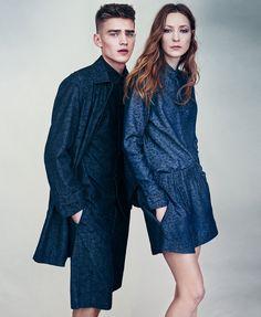 A Decade of Denim: Weekday Denim Brunch mit Jeansdesigner Johan Langer-Tegman Bo Develius, Weekday Jeans, H&m Group, High Street Shops, Model Agency, Denim Fashion, Editorial Fashion, Raincoat, Menswear