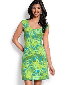Sun Palm Dress