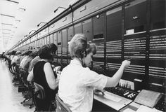 This was me, a long distance operator for over 22 years. Glad i had the experience at GTE. Telephone Exchange, May I Help You, Old Phone, Vintage Pictures, Vintage Photographs, Back In The Day, Time Travel, American History, Childhood Memories