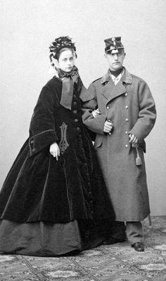 Archduke Karl Salvator of Austria- Tuscany (1839 – 1892) and his wife Princess Maria Immaculata of Bourbon-Two Sicilies