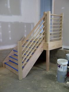 Best Finished Garage Stairs For The Home Pinterest Stairs 400 x 300