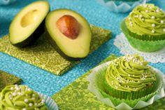 California Avocado Cupcakes with Key Lime Buttercream Frosting | California Avocado Commission