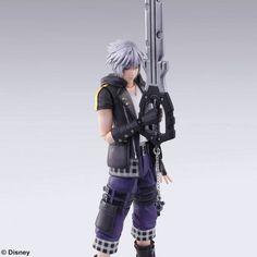 Picture of Kingdom Hearts 3 Bring Arts Riku Figurine Best Action Figures, Kingdom Hearts 3, Different Media, Japan News, Dear Santa, Bring It On, Punk, Cosplay, Sculptures