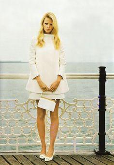 Love this style. white+minimal