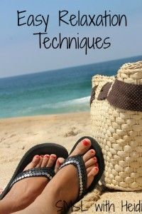 Easy Relaxation Techniques - Save More Spend Less with Heidi Ways To Relax, Just Relax, Skin So Soft, Smooth Skin, Smooth Feet, Relaxation Techniques, Breathing Techniques, Rest And Relaxation, Stress Relief
