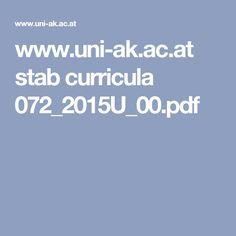 www.uni-ak.ac.at stab curricula 072_2015U_00.pdf