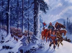 Winter's Heart cover by Darrell K Sweet. Click to enlarge