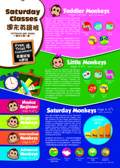 Toddler Monkeys (2.5 - 3 years old) - This is an integrated play-based program that perfectly suits toddlers