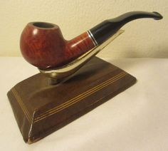 Vintage Jean Claude Full Bent Apple Estate Briar Tobacco Smoking 9mm Filter Pipe