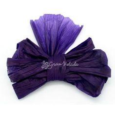 cinta decofiok color violeta con ella conseguirs hacer lazos muy decorativos para