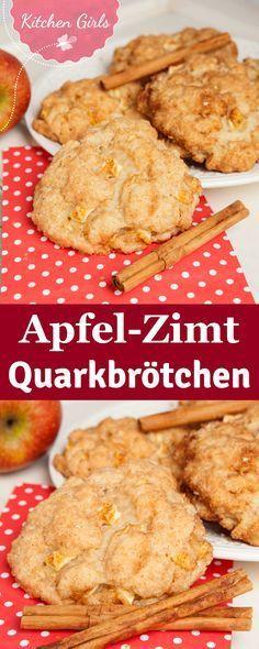 Dieses Rezept für schnelle Apfel-Zimt Quarkbällchen müsst ihr unbedingt probieren! Das beste daran: Die Zutaten für die leckeren Quarkbrötchen habt ihr bestimmt schon zuhause!