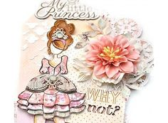 Prima Marketing und Petaloo Doll Stamps - Doll Stamp mindy