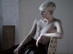 Model Thomas Penfound. Photography Hedi Slimane. From Untitled Magazine.