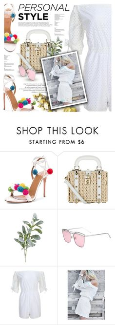 """Untitled #2127"" by defivirda ❤ liked on Polyvore featuring Dolce&Gabbana and Pier 1 Imports"