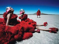 Fierce Creatures  Styling by Edward Enninful Shot by Patrick Demarcheliar for W Magazine August 2012
