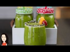 High Energy Green Smoothie - Great Iron & Calcium Rich Breakfast! - YouTube