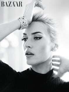 Kate Winslet in Harper's Bazaar UK April 2013 by Alexi Lubomirksi