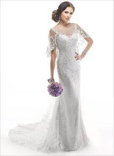 15 Romantic Lace Wedding Dresses