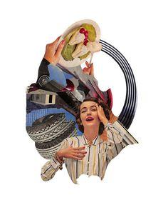 Oldschool Collages by Michael DeSutter – Fubiz Media