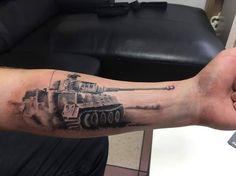 Tiger Tank tatto