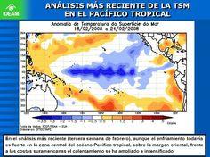 Condiciones de enfriamiento de las aguas en el océano pacífico tropical
