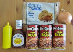 I swear if u don't put brown sugar and mustard on your canned baked beans you're un-American