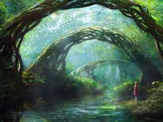 Fantasy Forest Wallpapers - love it very intriguing