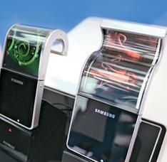 Samsung begins flexible AMOLED display production this November?