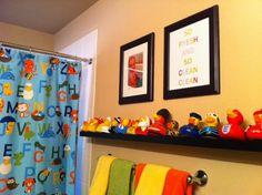 Kids bathroom makeover. Kids bathroom boys bathroom