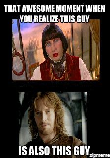 Moulin Rouge and LOTR win