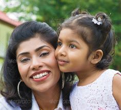 Portrait of loving mother and daughter ...  Bonding, Malaysian, Pakistani, adult, asian, beautiful, care, cheerful, child, cute, daughter, day, family, female, girl, grass, green, happy, healthy, home, india, indian, infant, joy, kid, leisure, lifestyle, little, living, love, mature, modern, mother, nature, outdoor, outside, parent, park, people, portrait, relax, small, smile, smiling, summer, sweet, together, togetherness, two, woman