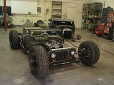 I like it, but not sure id its more beach buggy that ratrod. Interesting concept.