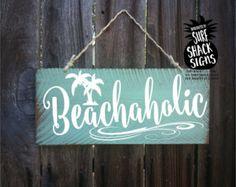 Beach Signs Beach Wall Decor Beach House by ThePaintedPearlSRQ