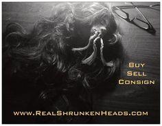 Buy, Sell, Trade - Shrunken Heads. www.AuthenticShrunkenHeads.com