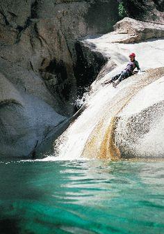 #Canyoning en #Corse ! Cascades de Purcaraccia