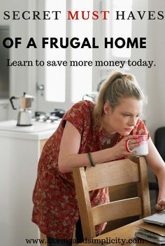 Are you looking to save more money this year? Learn the secret money saving must haves that every frugal living home needs.