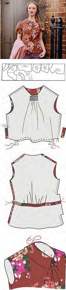 Cómo coser una blusa | WomaNew.ru - lecciones de costura!