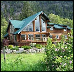 I want a vacation log cabin!